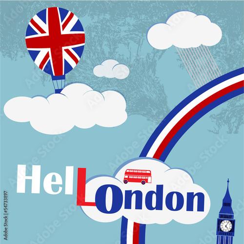 english balloon - 54733897