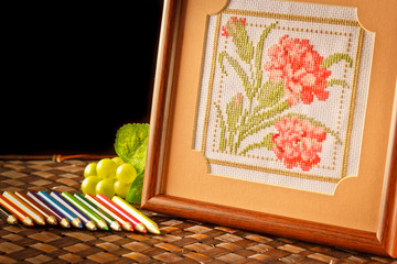 Cross-Stitch embroider
