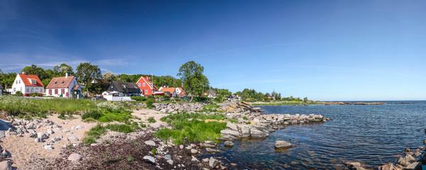 Panorama der Küste Bornholms