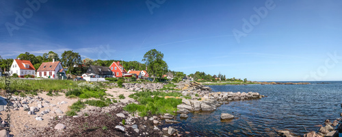 Staande foto Scandinavië Panorama der Küste Bornholms