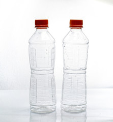 plastic bottle recycled