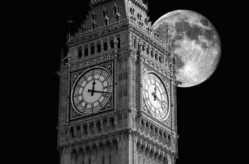 Big Ben moon