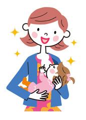母乳 お母さん 赤ちゃん
