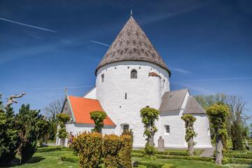 Rundkirche St. Ols Kirke auf Bornholm