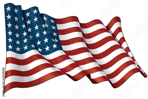 US Flag WWI-WWII (48 stars)