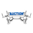 auction, online, trade, market,