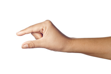 Measuring Finger Gesture