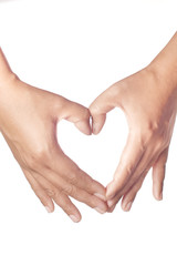 Hands Making Heart Sign