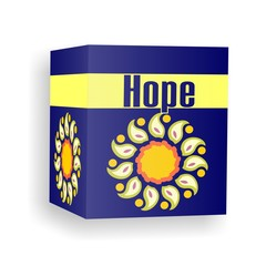Hope in a folded box