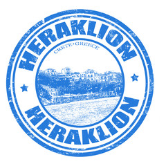 Heraklion stamp