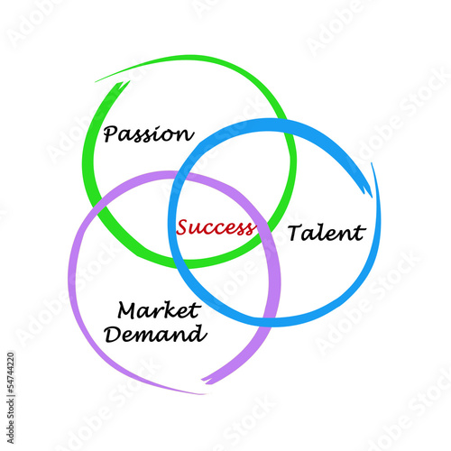 Diagram of success