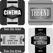 Cinema stickers - 54744622