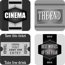Autocollants Cinéma