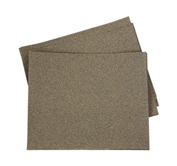 Sandpaper Sheets Spread Out