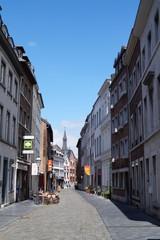 Aachen - Gasse zum Dom