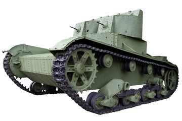 twin-turreted light tank