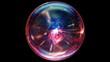 Plasma Ball in looped animation. HD 1080.
