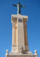 Statue of Jesus Christ on the Mount of Monte Toro