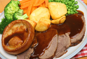 Roast Beef Sunday Dinner