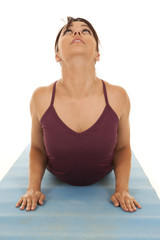 woman fitness up dog front
