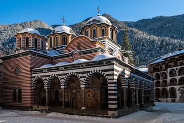 The Rila Monastery, a UNESCO World Heritage site in Bulgaria