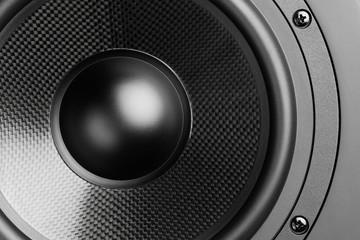loudspeaker, closeup view