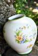 vase en faïence peint