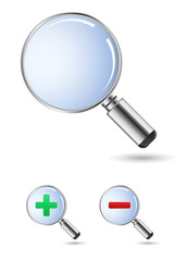 magnifying glass - zoom glass icon