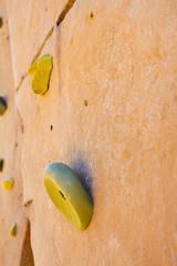 Rock Climbing Handhold Detail