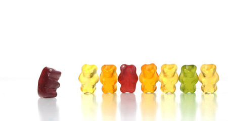 Gummy bears - obedient citizens