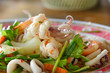 spicy mix seafood salad