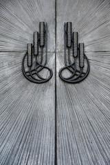 Ottoman wheat storehouse door