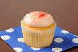 Strawberry cream cupcakes
