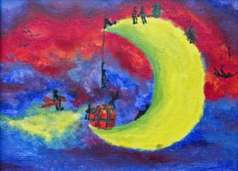 Xmas on Moon