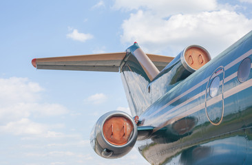 Undercarriage of the airplane