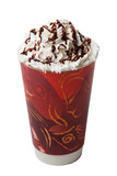 Whipped Cream Hot Cold Coffee Drink Isolation