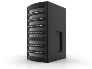 Detailed computer server