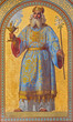 Vienna - Fresco of high priest Aron in Altlerchenfelder church