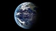 turning earth background , loop-able 3d animation