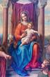 """Vienna -  Detail of fresco """"Madonna of Vienna"""""""