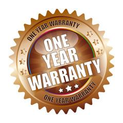 Bügel Button Kranz One Year Warranty