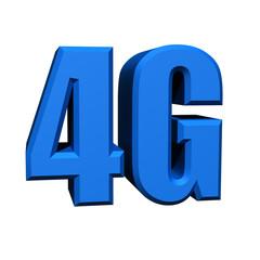 4G 3d symbol