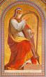 Vienna  - Fresco of Moses in Altlerchenfelder church