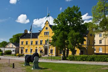 Haus am Göta Kanal in Motala 2