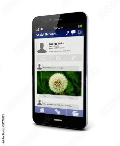 social network smart phone