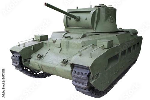 Poster old infantry medium tank