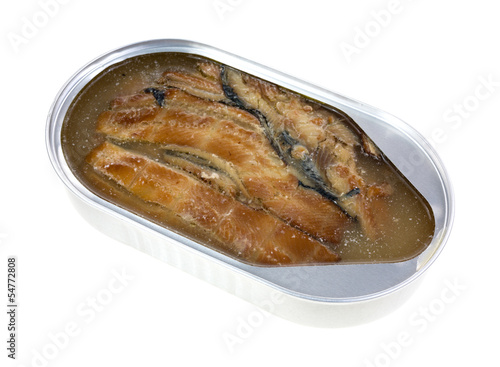 Tin of smoked herring