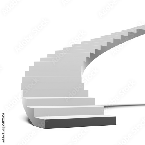 Black and white stair