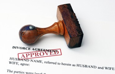 Divorce agreement - approved