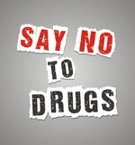 say no to drugs poster poster